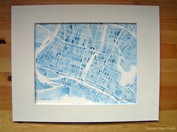 Oakland Blue