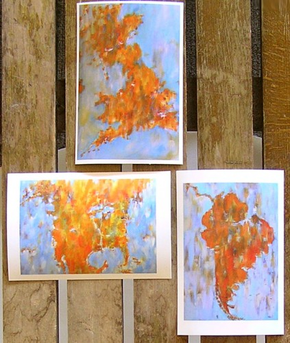 Map art prints 4x6