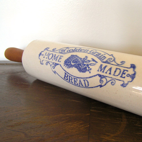 Vintage Bread Rolling Pin