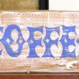 Coffee Hand painted Wood Block Art
