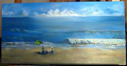 Outer Banks North Carolina Oil Painting