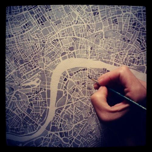 LondonEngWatercolorHand