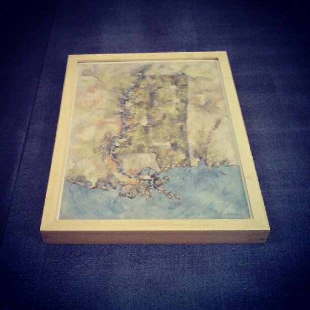 Prints are here #mississippi #landmass #nola #denverart #summitridge