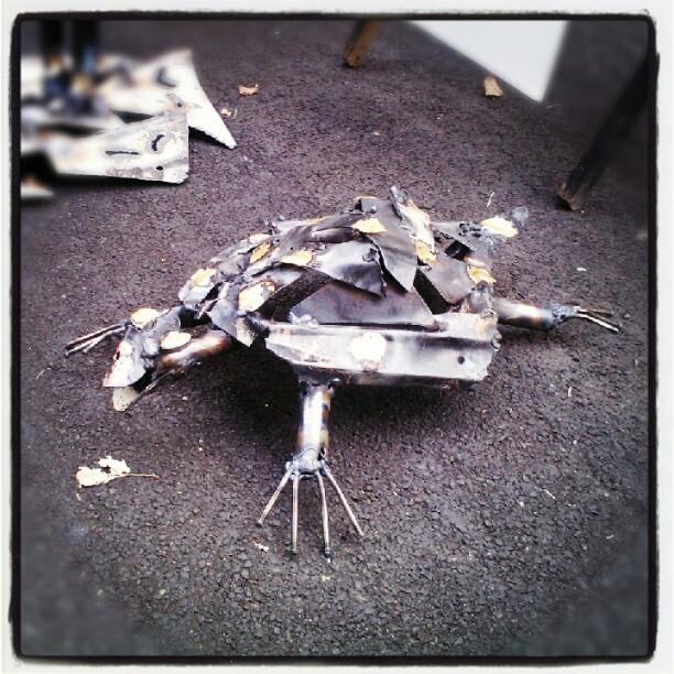 Turtle #denverart  #art  #sculpture  #bobragland