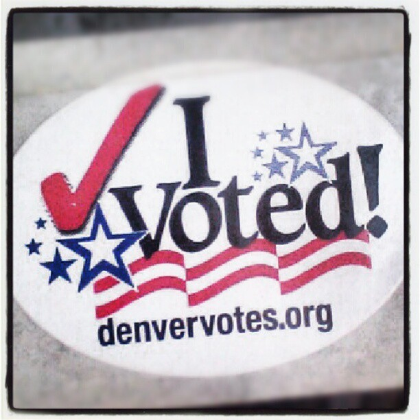 I voted now please stop knocking on my door. #swingstate #overit #govote
