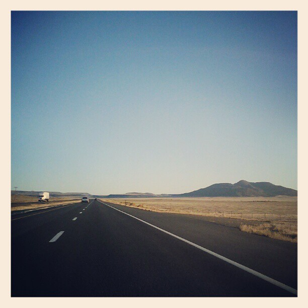 On the road #newmexico #hwy87