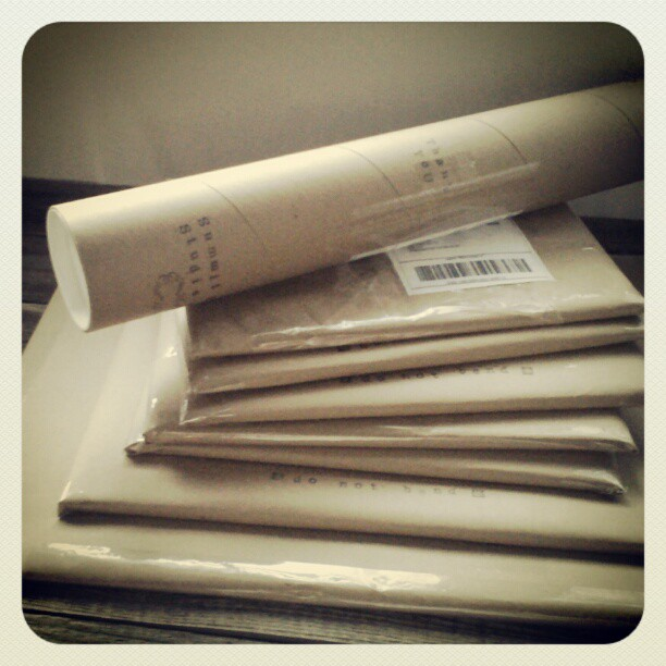 Shipping Christmas time #summitridge #denverart