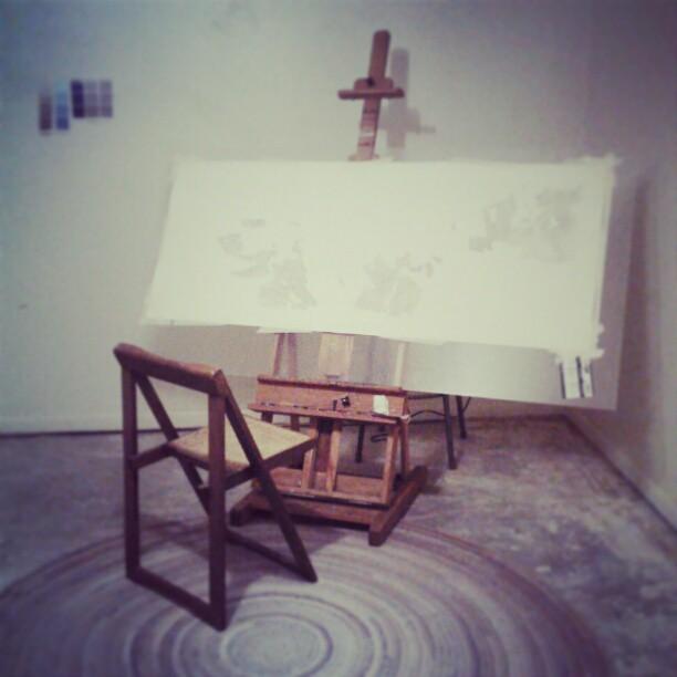 Setup #painting #easel #summitridge