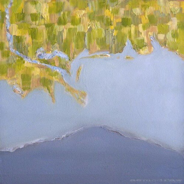 Gulf #gulf #oil #painting #summitridge #nola #missip #map