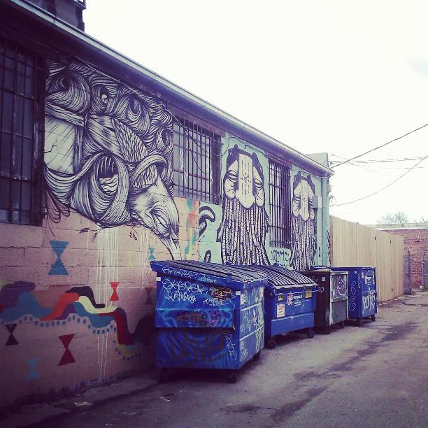 Oakland #oaklandgraffiti #likeminded #denver