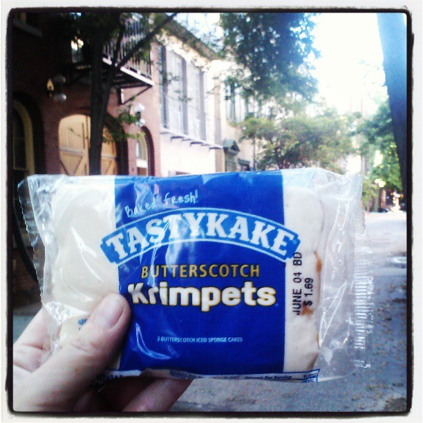 Im so happy right now #tastykake #selfie  #philly
