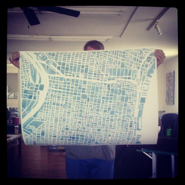 Philly #large #watercolor #print #summitridge #likeminded