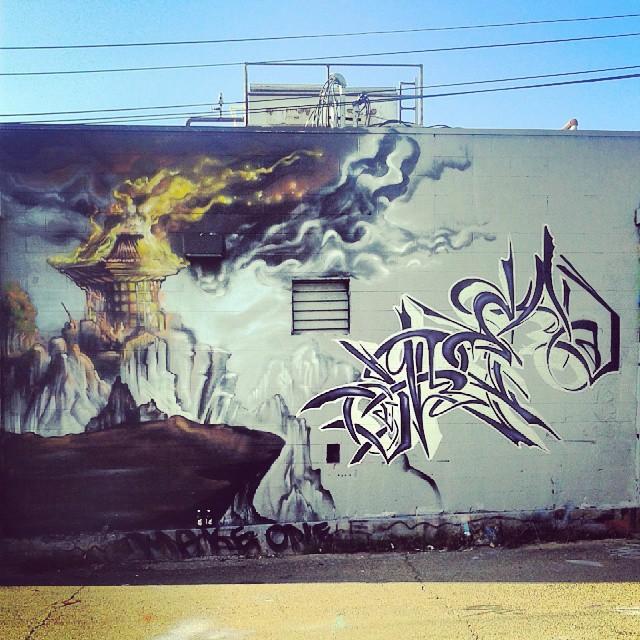 Denver #art #street #Larimer #alley