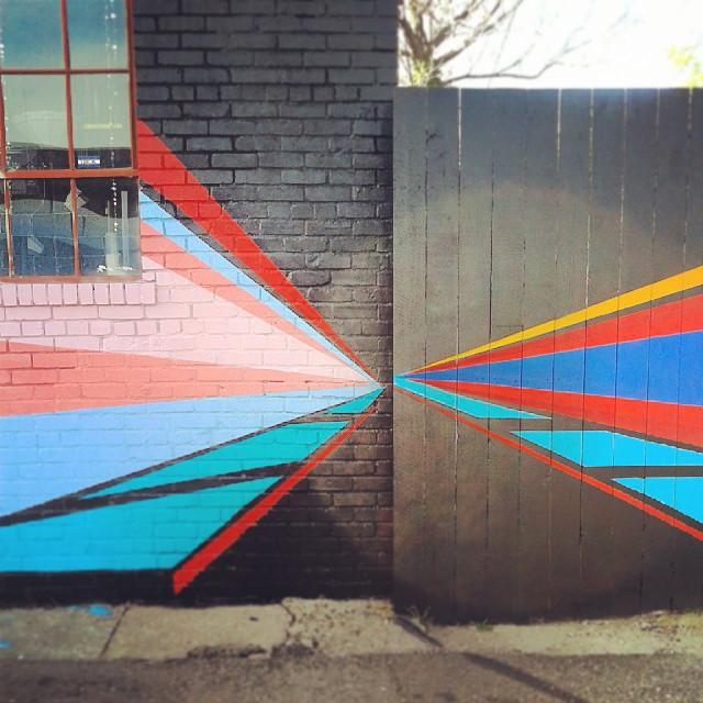 Tangent #likeminded #art #Denver #Larimer