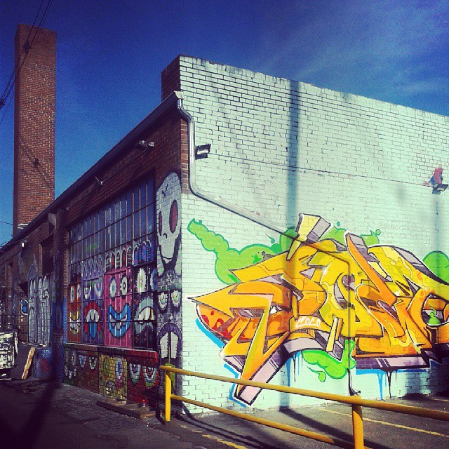 Corners #Denver #Larimer #art #graffiti #street #paint