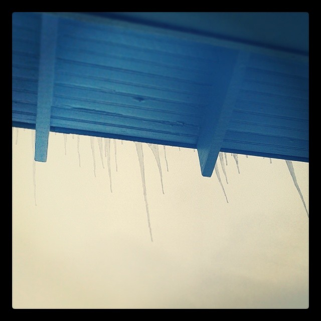 Icicles #Denver #snow