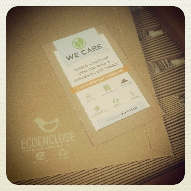 New packaging #ecoenclose #colorado #summitridge