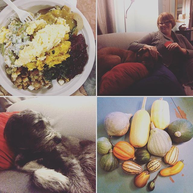 Thanksliving with friends and animals #Thanksgiving #vegan